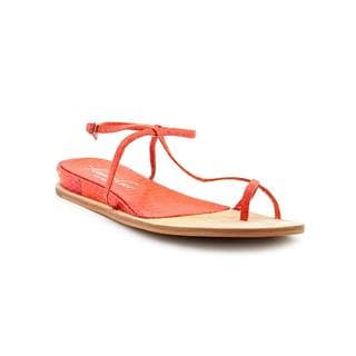 Kenneth Cole NY Women's 'Pretty Bloom' Leather Sandals