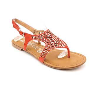 Naughty Monkey Women's 'Spitacular' Regular Suede Sandals (Size 10 )