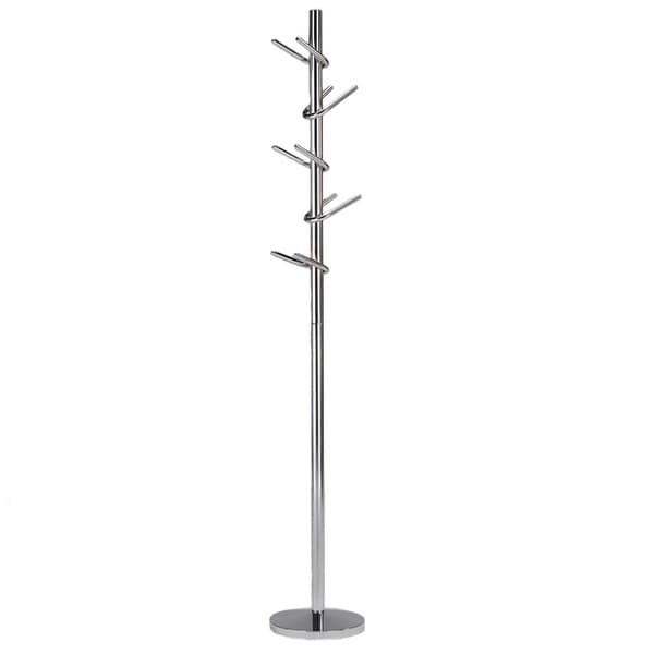 U-hook Chrome Coat Rack