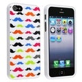 BasAcc Mustaches TPU Rubber Case for Apple iPhone 5