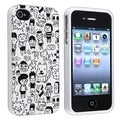 BasAcc Cartoon TPU Rubber Case for Apple� iPhone 4/ 4S