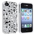 BasAcc Cartoon TPU Rubber Case for Apple iPhone 4/ 4S