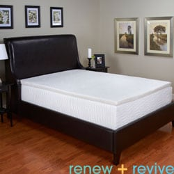 Renew and Revive Oasis 2-inch Latex Foam Mattress Topper