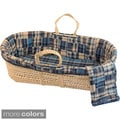 Tadpoles Patchwork Plaid Moses Set