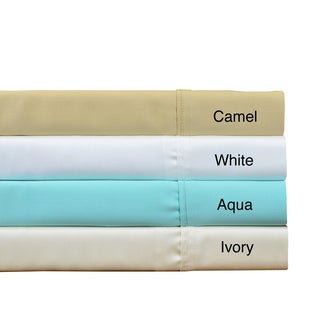 Brielle Tencel Lyocell Sateen Sheet Set or Pillowcase Separates