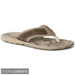 Andrew Marc New York 'Duffy' Men's Leather Sandals