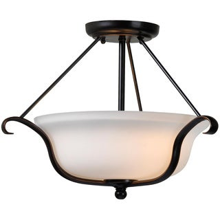 Kiel 2-light Semi Flush Mount Light Fixture