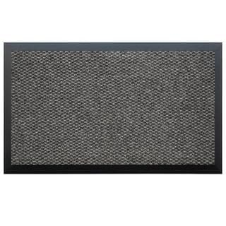 Teton Dark Grey/ Black Entry Mat