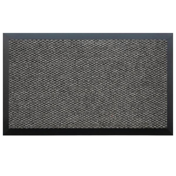 Teton Dark Grey/ Black Entry Mat