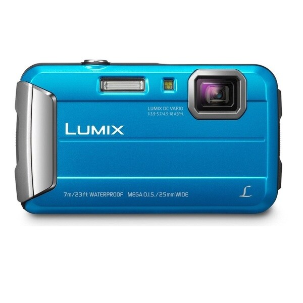 Panasonic Lumix DMC-TS25 16.1 Megapixel Compact Camera - Blue