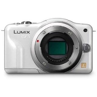 Panasonic Lumix DMC-GF3 12.1MP White Digital Camera Body Only