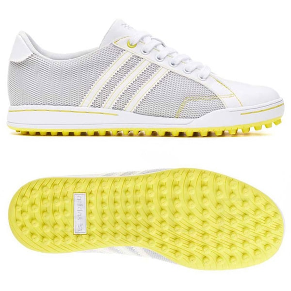Adidas Women's Adicross II Mesh Spikeless Light Grey/ White Golf Shoes