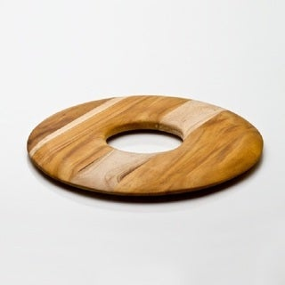 "Handcrafted Teakwood Big ""O"" Cutting Board (Guatemala)"