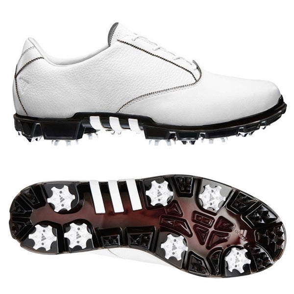 Adidas Men's AdiPURE Motion White Golf Shoes