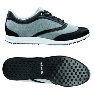 Adidas Women's Adicross Classic Spikeless Grey/ Black Golf Shoes