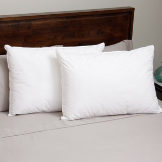 Hotel Madison 300 Thread Count Blended Fill Down Alternative Pillow (Set of 2)