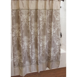 Sherry Kline Winchester Shower Curtain with Hook Set