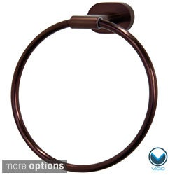 Vigo Ovando Round Design Hand Towel Ring