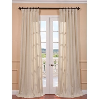 Hilo Natural Linen Blend Curtain Panel