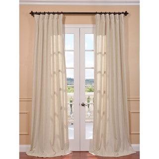 Hilo Natural Linen Blend Curtain Panel