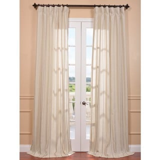 Trinidad Hemp Linen Blend Stripe Curtain Panel
