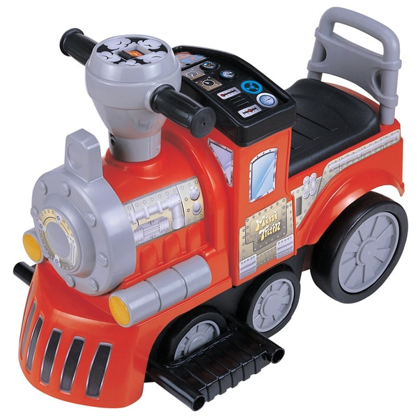 My First Battery Operated Red RideOn Train