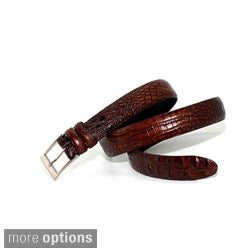 Marco LTD Men's Hornback Alligator Leather Dress Belt