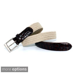 Marco LTD Men's Elastic Braided Dress Belt