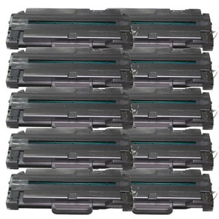 Samsung-compatible MLT-D105L Black High Yield Laser Toner Cartridge (Pack of 10)