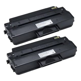 Dell-compatible 1260 331-7328, RWXNT Black Toner (Pack of 2)