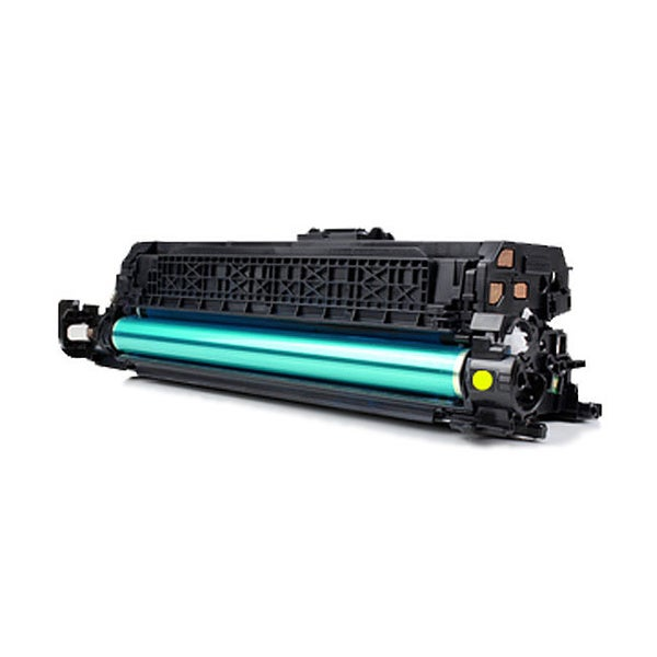 HP-compatible CF032A Yellow Laser Toner Cartridge (646A)