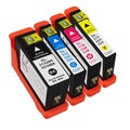 Sophia Global Dell-compatible 31 Black, Cyan, Magenta, Yellow Ink Cartridges (Pack of 4)