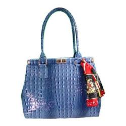 Women's Vecceli Italy AS-179 Blue Leather