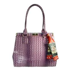 Women's Vecceli Italy AS-179 Purple Leather