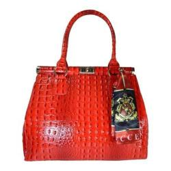 Women's Vecceli Italy AS-179 Red Leather