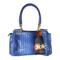 Women's Vecceli Italy AS-180 Blue Leather