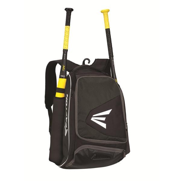 Easton E200P Carrying Case (Backpack) for Baseball, Bat - Black Sports Gear