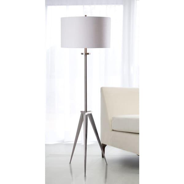 Caperana 1 Light Steel Floor Lamp 15638530 Shopping