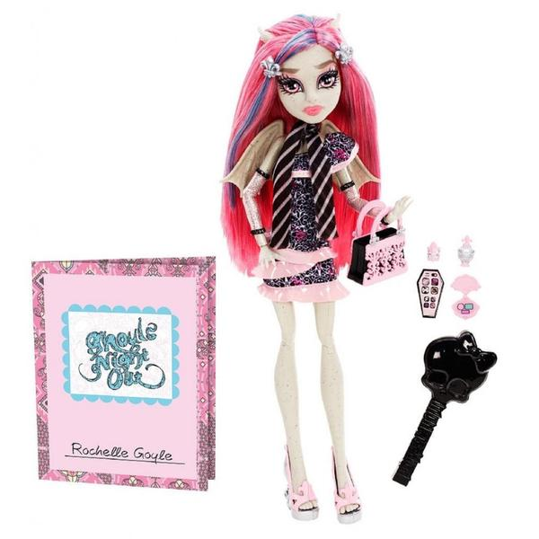 Monster High Ghouls Night Out Doll Rochelle Goyle Doll