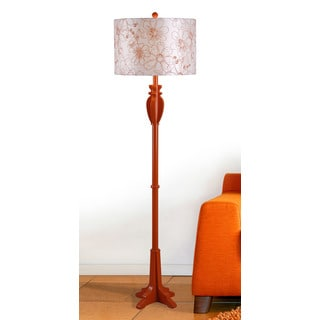 Wayland 1-light Orange Floor Lamp