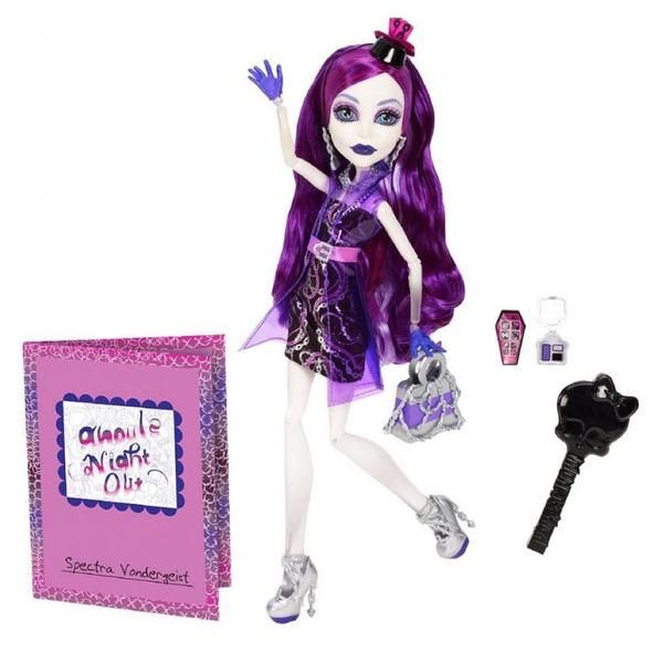 Monster High Ghouls Night Out Doll Spectra Vondergeist