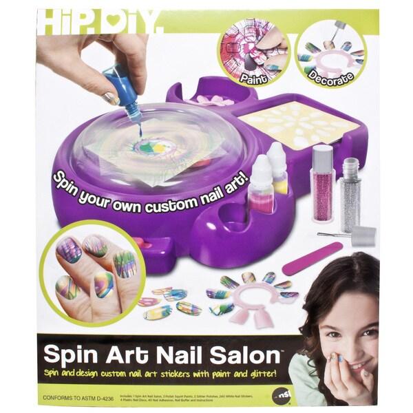 Spin Art Nail Salon