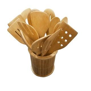 Bamboo 14-Piece Kitchen Utensil Set
