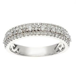 Sofia 14k Gold 1/2ct TDW Certified Diamond Wedding Band (H-I, I1-I2)