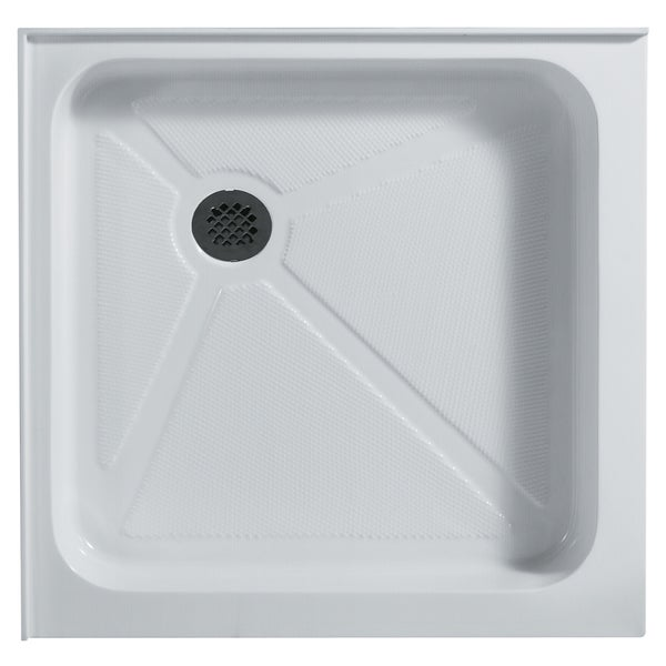 Vigo 32-Inch x 32-Inch White Square Shower Tray