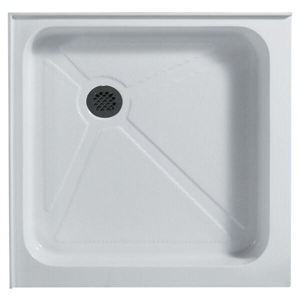 Vigo 36-Inch x 36-Inch White Square Shower Tray