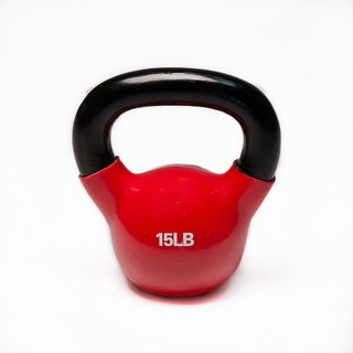 15-pound Vinyl Coated Kettlebell