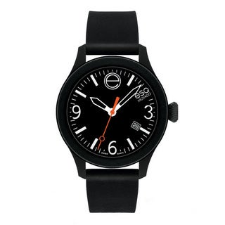 ESQ Movado Unisex 'ESQ ONE' Black/ White Watch
