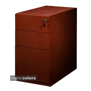 Mayline Luminary Box/Box/File Pedestal for Desk
