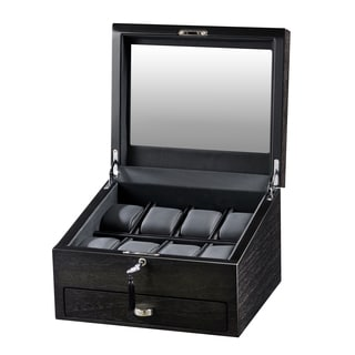 Volta Rustic Brown 8 Watch Display Case